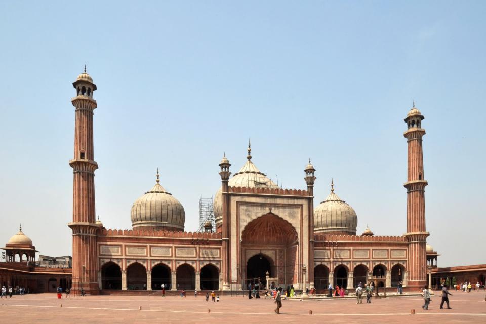 Las mezquitas del Imperio mogol , India