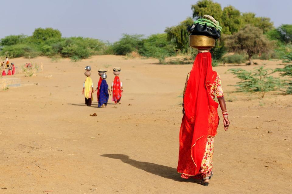 Il Deserto di Thar , India