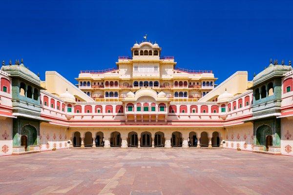 El Palacio de la Ciudad de Jaipur , City Palace, Jaipur, la India , India