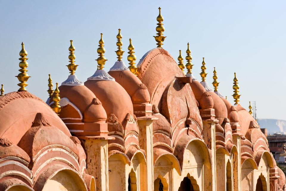 Le City Palace de Jaipur , Inde