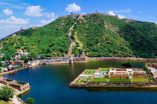 La fortaleza de Amber , La fortaleza de Amber, Rajastán, la India , India
