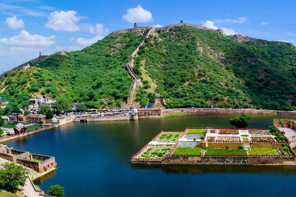 The fortress of Amber , The Amber Fortress, Rajasthan, India , India