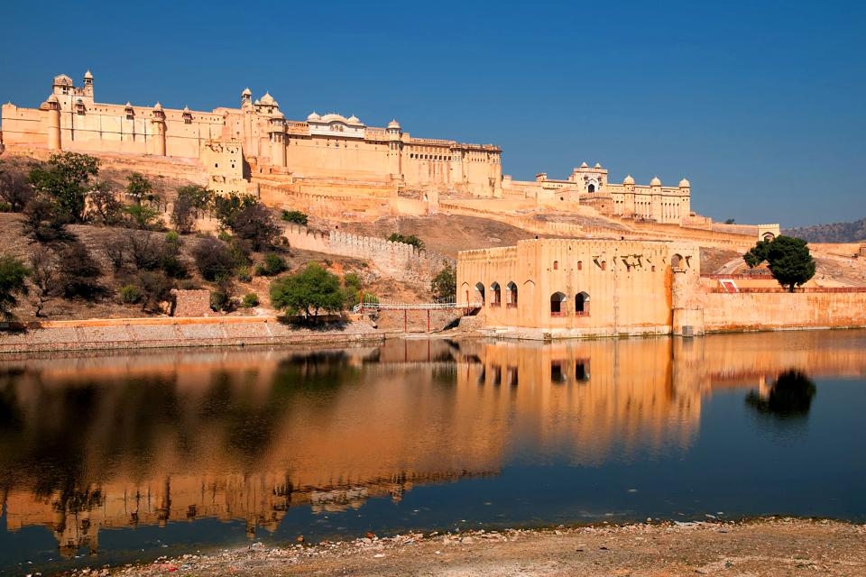 The fortress of Amber , India