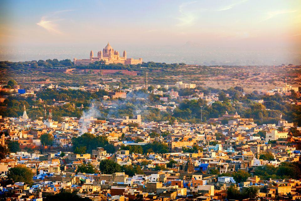 Le Palais de Umaid Bhawan, Johdpur, Inde, Le Umaid Bhawan Palace de Jodhpur, Les palais des maharajas, Rajasthan