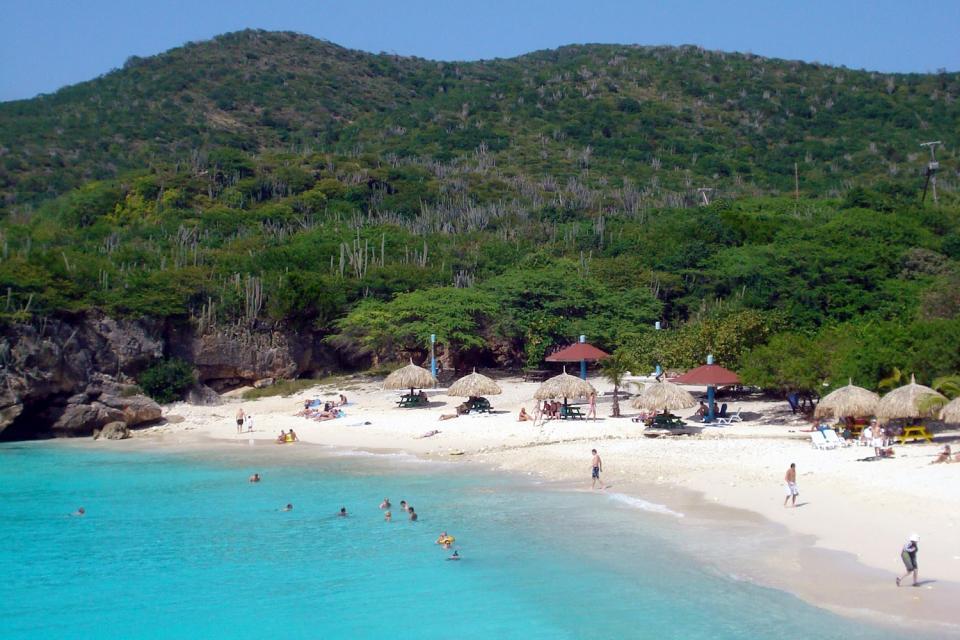 L'île de Curaçao , Le mont Christoffelberg, île de Curaçao , Antilles néerlandaises