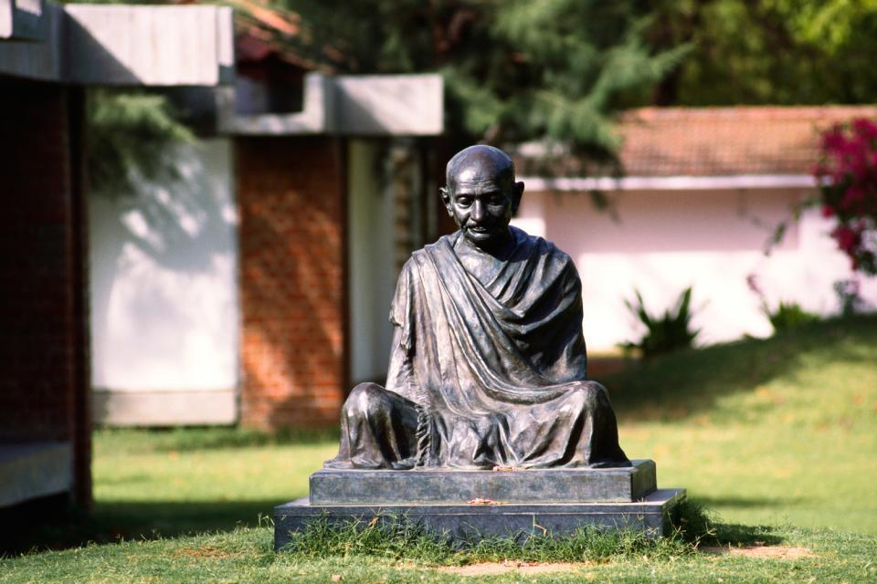 Le musée Mahatma Gandhi de Madurai , Inde