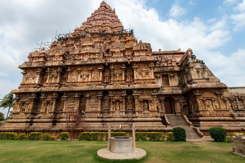 Le Palais de Thanjavur , Inde