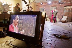 El cine , India
