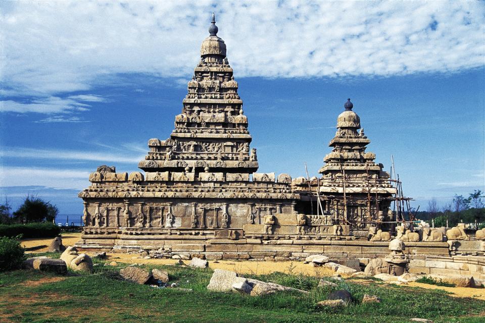 Los templos de Mamallapuram , India