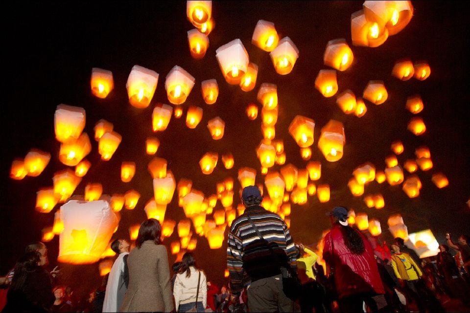 El festival de los Farolillos , El festival de los Faroles , Taiwán