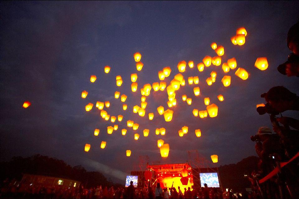 El festival de los Farolillos , Una fiesta familiar , Taiwán
