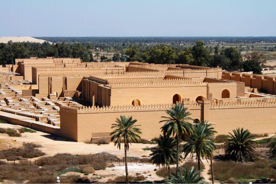 Babilonia , L'arte a Babilonia , Iraq