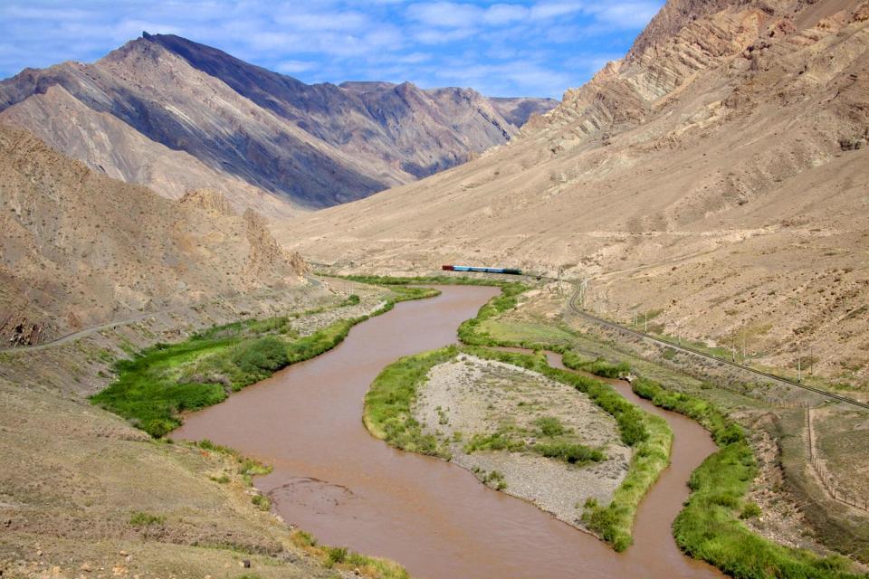 Los montes Zagros , Los montes Zagros, Irán , Irán