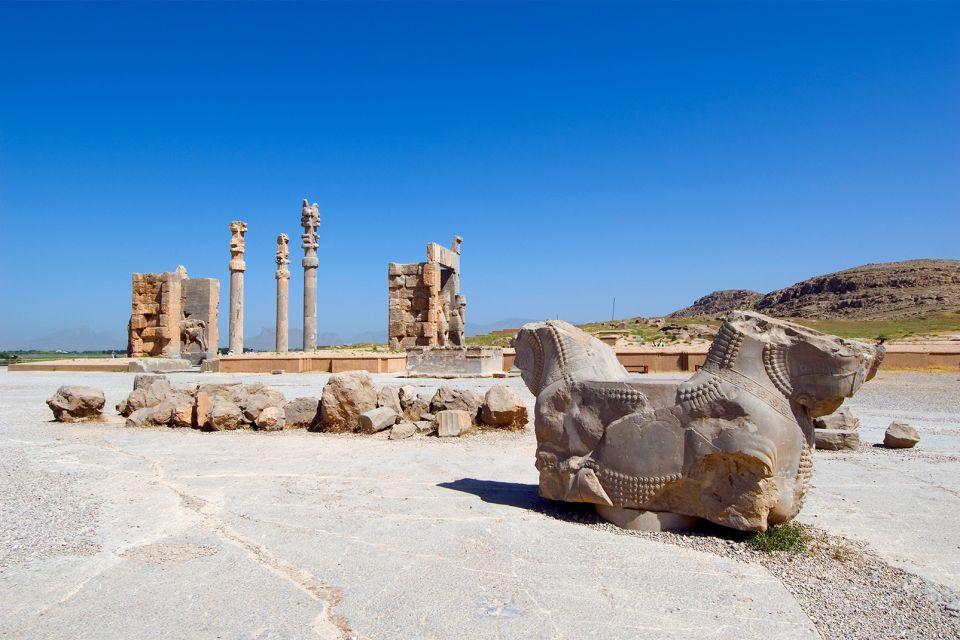 Ruinen, Persépolis, Die Monumente, Shiraz, Iran