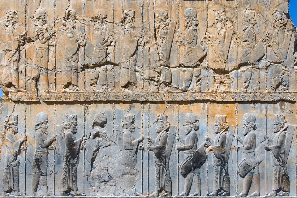 Die Gravuren, Persépolis, Die Monumente, Shiraz, Iran