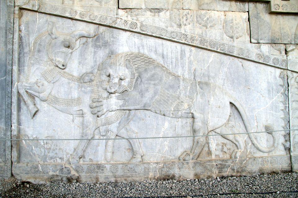 Freske, Persépolis, Die Monumente, Shiraz, Iran