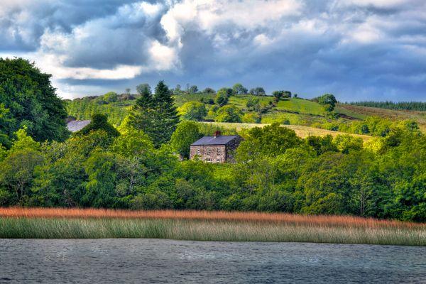 Die Ebenen des Shannon-Flusses, Die Prärien und die in der Landesmitte gelegenen Seen, Die Landschaften, Dublin, Irland