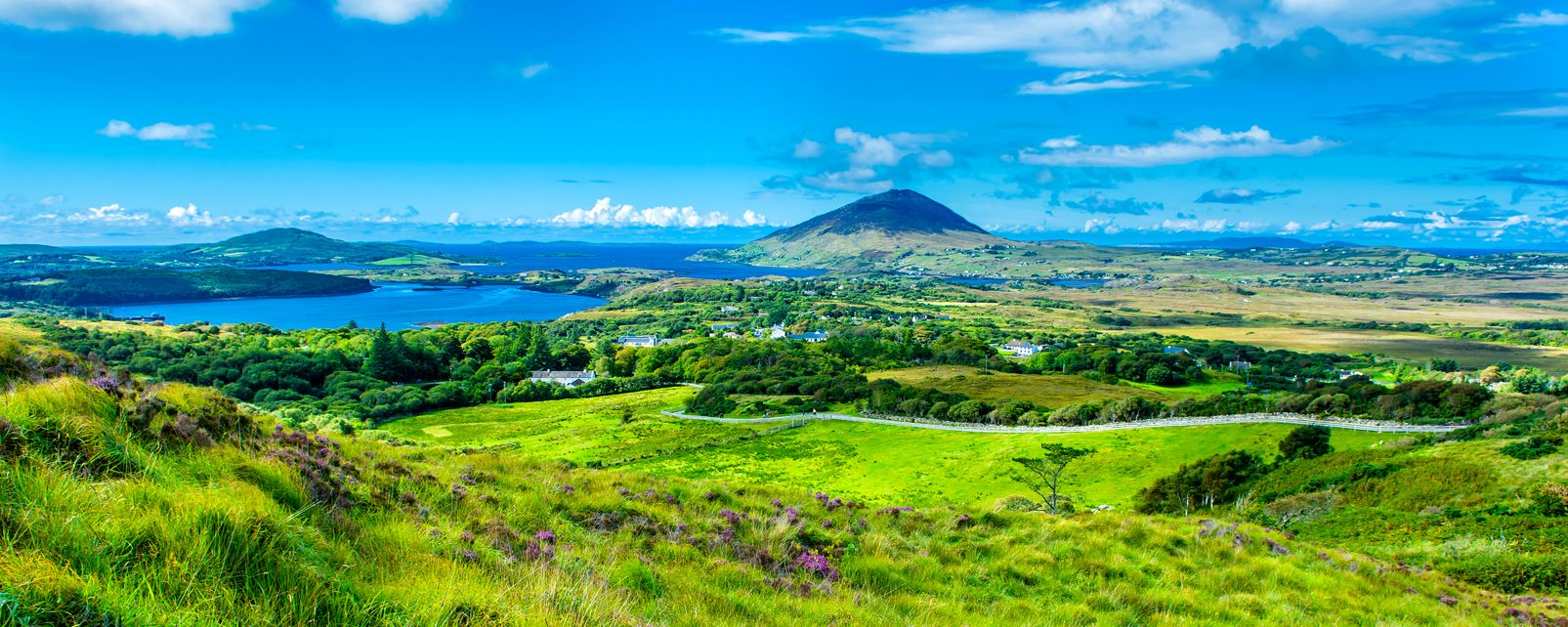 The rivers of Connemara, Connemara, Landscapes, Galway, Ireland