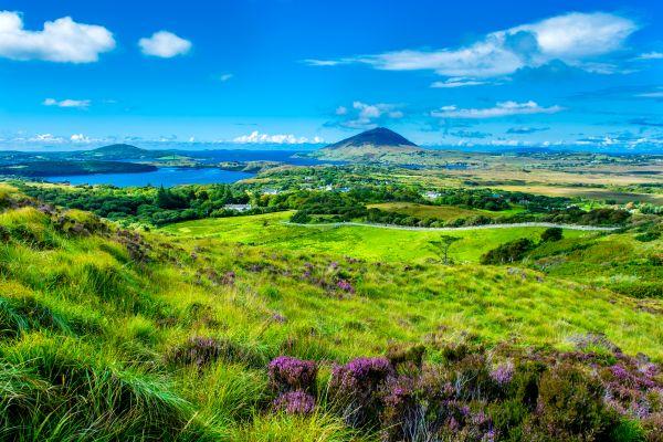 Die Flüsse von Connemara, Die Connemara, Die Landschaften, Galway, Irland