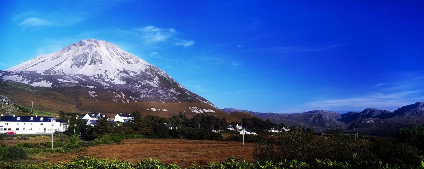 Les monts du Donegal, Irlande, Les monts du Donegal, Les paysages, Irlande
