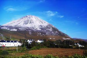 Los montes de Donegal, Irlanda, Los montes de Donegal, Los paisajes, Irlanda