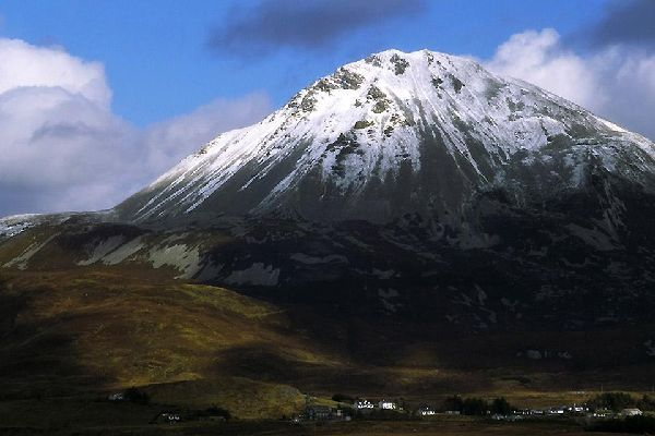 The Donegal mountains. , Mount Errigal, Ireland , Ireland