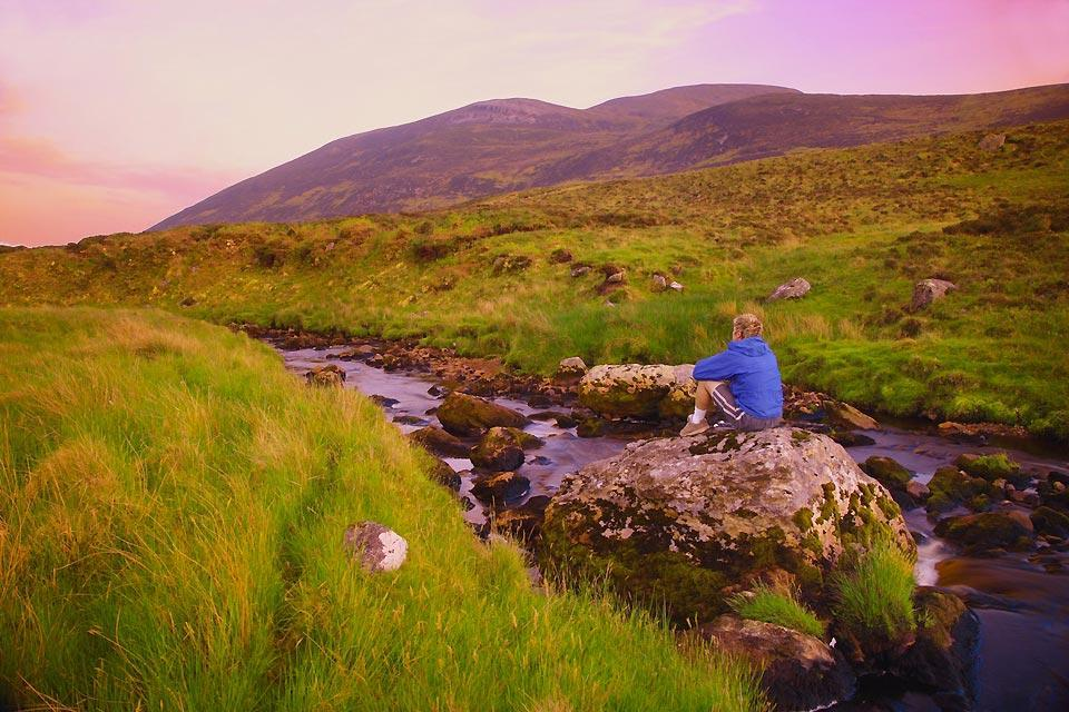 The Donegal mountains. , Donegal: between rivers and streams , Ireland