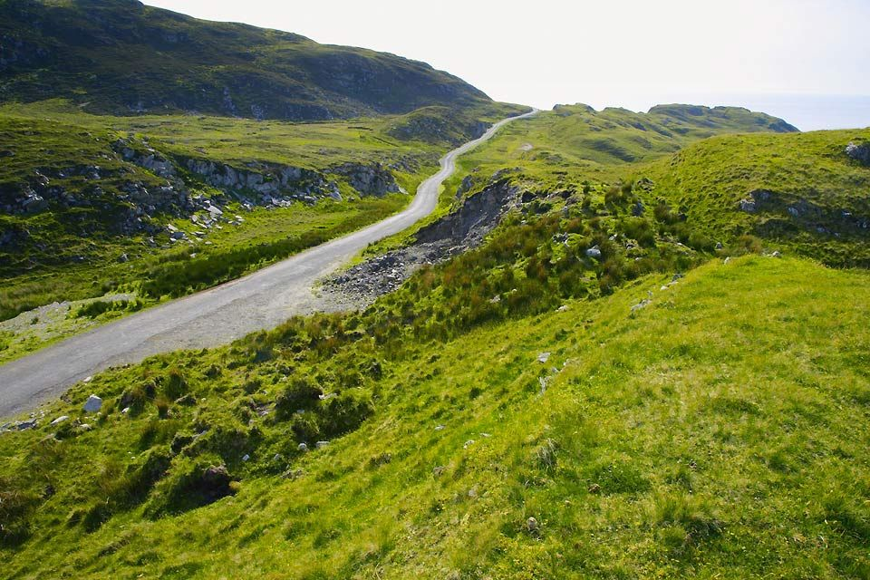 The Donegal mountains, The Donegal mountains., Landscapes, Ireland