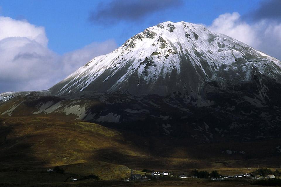 I monti del Donegal , Il monte Errigal, Irlanda , Irlanda