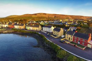 Las montañas de Kerry, Las montañas de arenisca roja de Kerry, Los paisajes, Irlanda