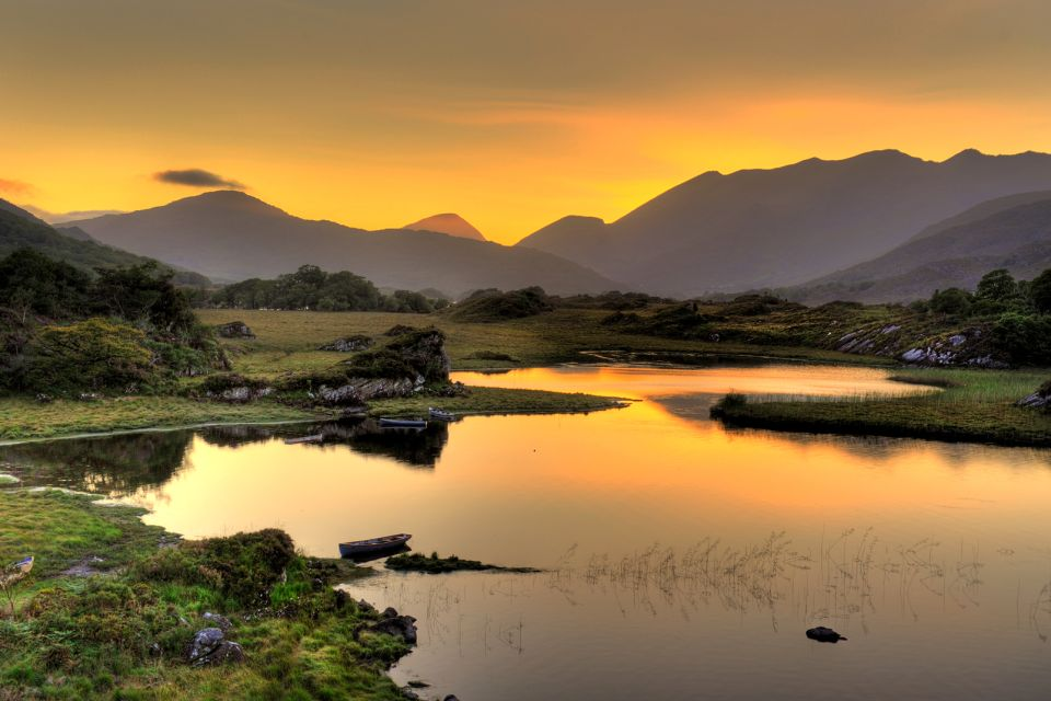 The Kerry coast, The red sandstone mountains., Landscapes, Ireland