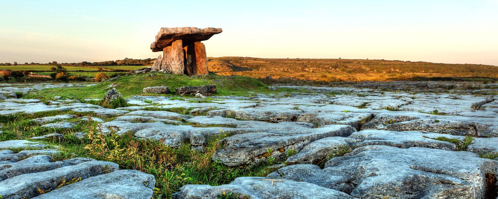 Las colinas calcáreas del Burren, El desierto calcáreo de Burren, Los paisajes, Irlanda