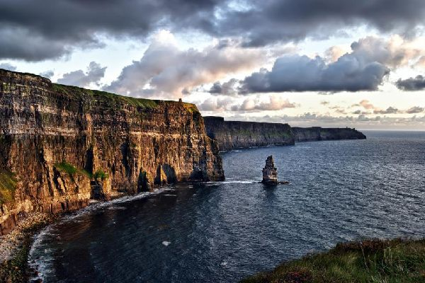 The fjords and cliffs of the west coast , The Cliffs of Moher, Ireland , Ireland