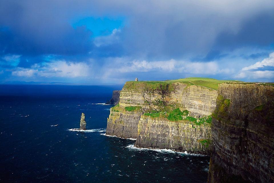 Die an der Westküste gelegenen Fjorde und Felsen , Cliffs of Moher, Irland , Irland