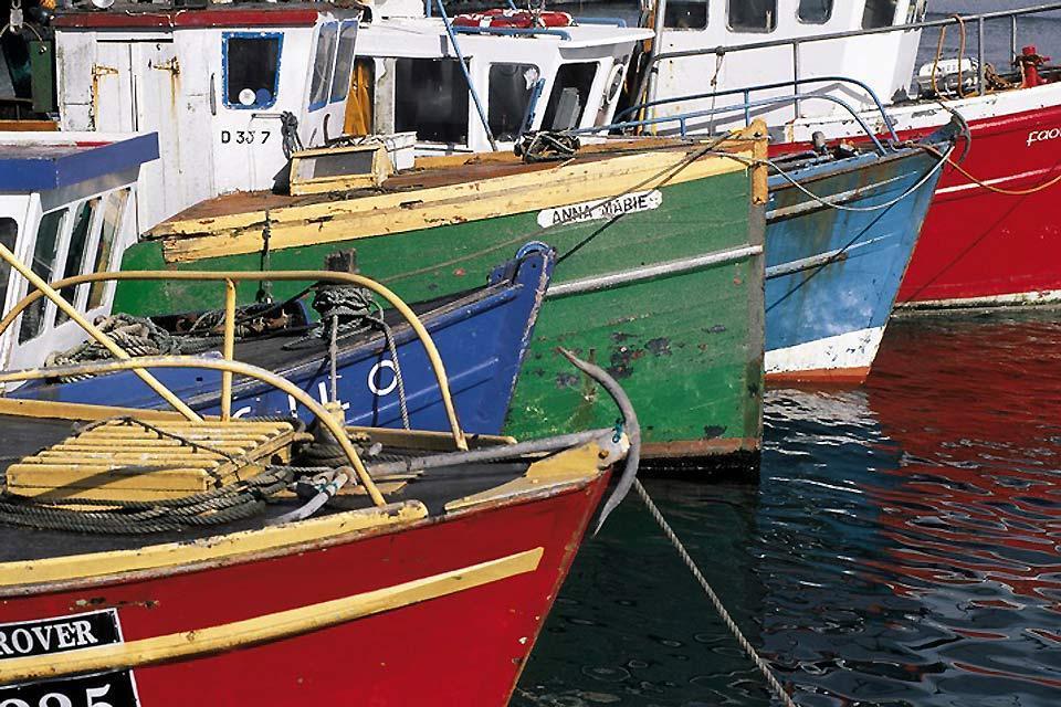 Die Häfen an der Ostküste , Irland: die östliche Region , Irland