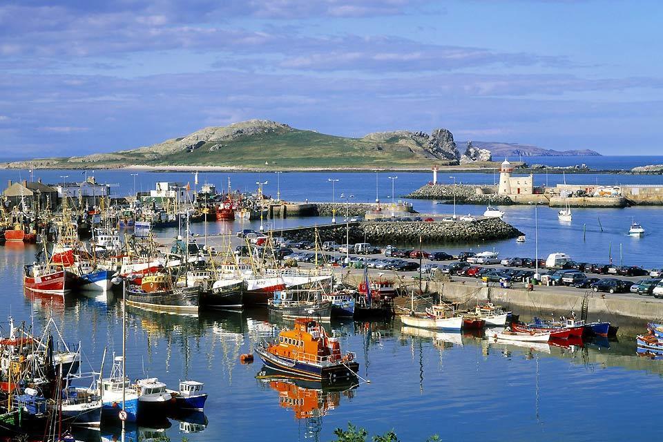 Die Häfen an der Ostküste , Die Ostküste, Irland , Irland