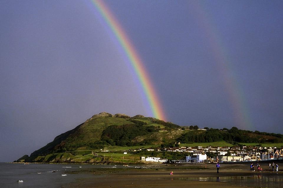 Die Häfen an der Ostküste , Ostirland, die Küsten , Irland