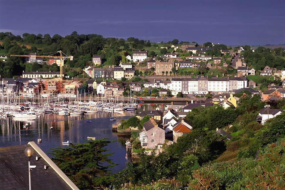 Die Häfen an der Ostküste , Der Kinsale-Hafen, Irland , Irland