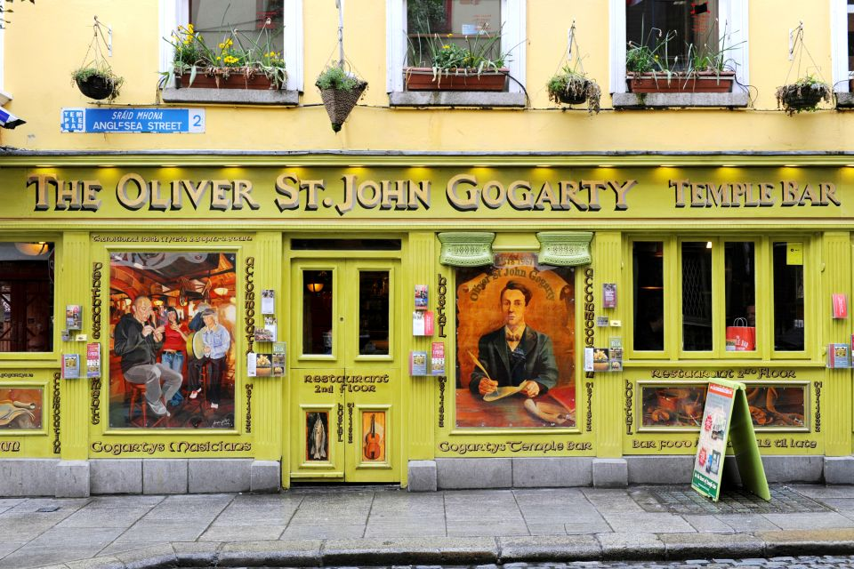 A pub in an Irish town, Pubs, Arts and culture, Dublin, Ireland