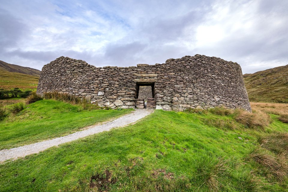 Staigue Fort , Staigue Fort, Irland , Irland