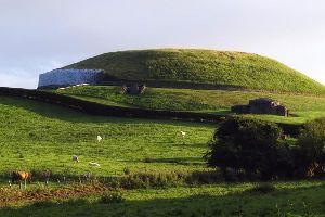 Newgrange , Die Ausgrabungsstätte Newgrange, Irland , Irland