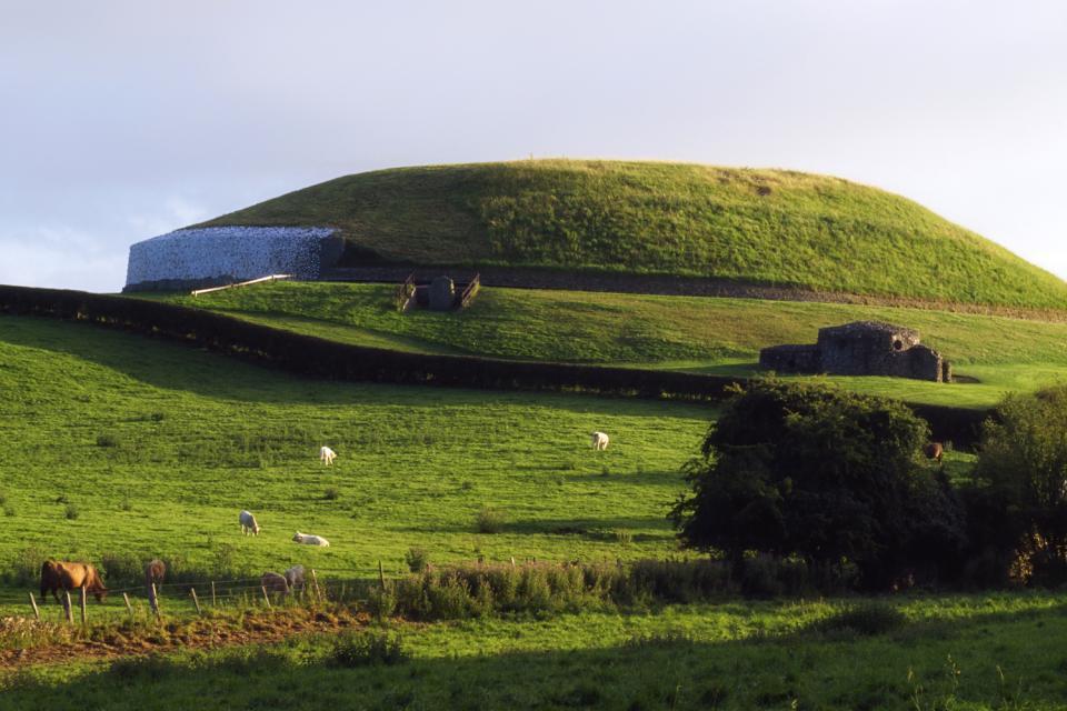 Newgrange , L'area archeologica di Newgrange, Irlanda , Irlanda