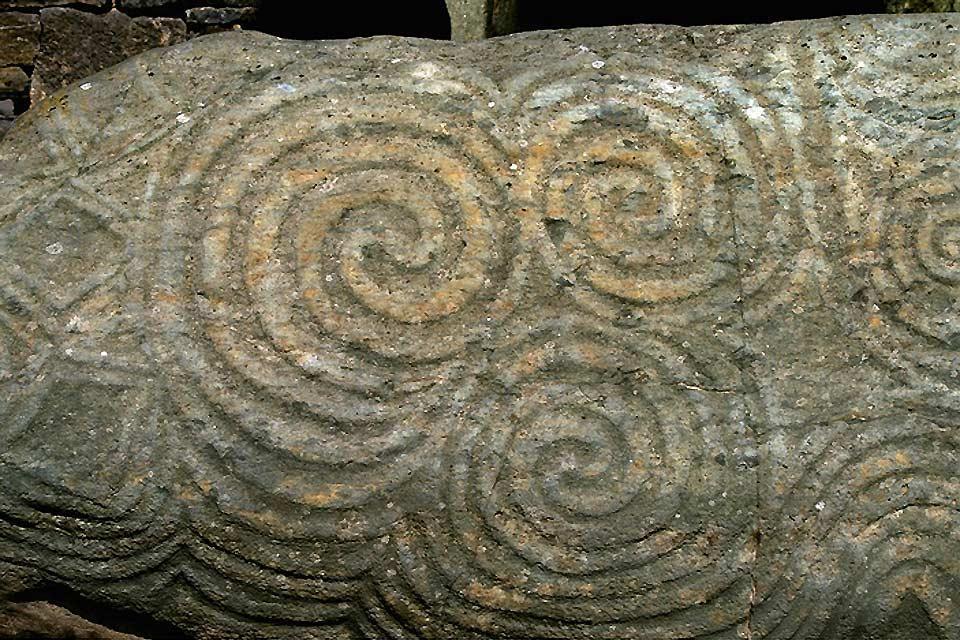 Newgrange , Le testimonianze del passato, Newgrange , Irlanda