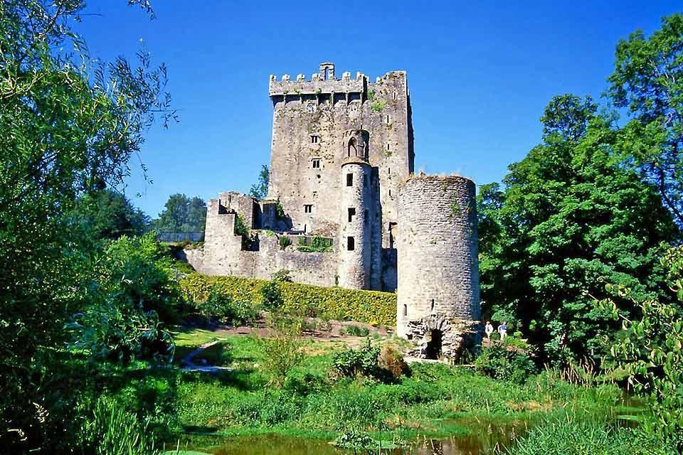 Blarney Castle , Blarney Castle, presso Cork, Irlanda , Irlanda