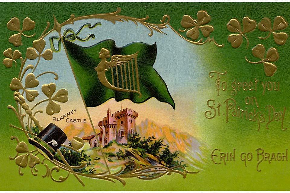 Blarney Castle , St Patrick's day , Irlanda