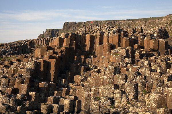 La Calzada de los Gigantes , La Calzada de los Gigantes en Irlanda del Nor , Reino Unido