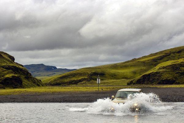 La valle di Thorsmörkest , Islanda