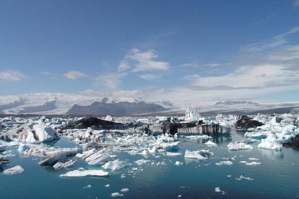 Les glaciers , Islande