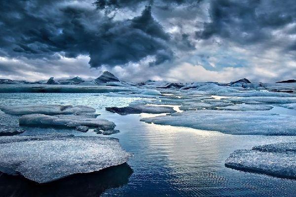 Les glaciers d'Islande , Le lac Jökulsárlón , Islande