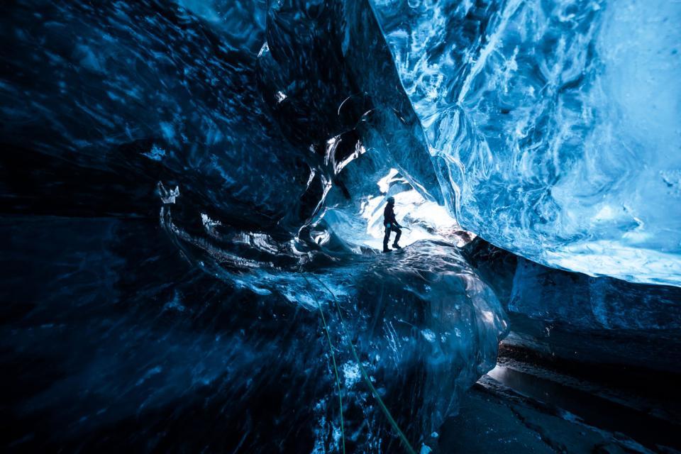 Les glaciers d'Islande , Excursion sur les glaciers , Islande